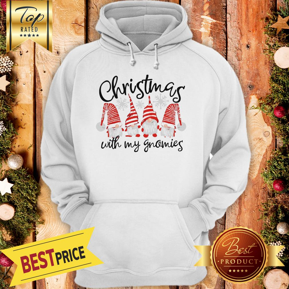 Official Christmas Cuith My Gnomies Hoodie