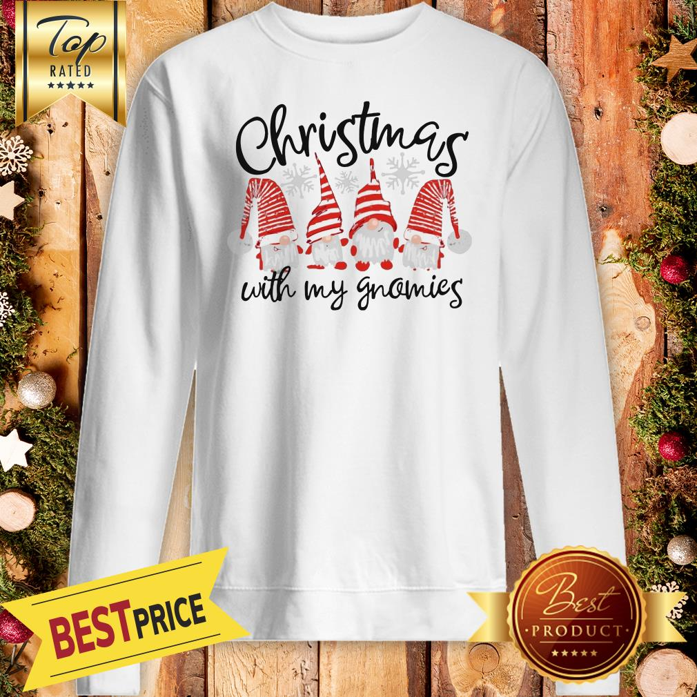 Official Christmas Cuith My Gnomies Sweatshirt