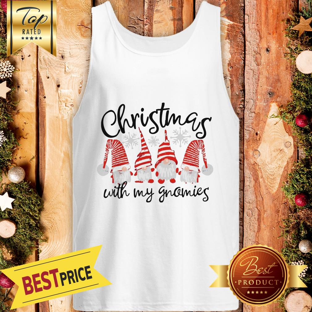 Official Christmas Cuith My Gnomies Tank Top