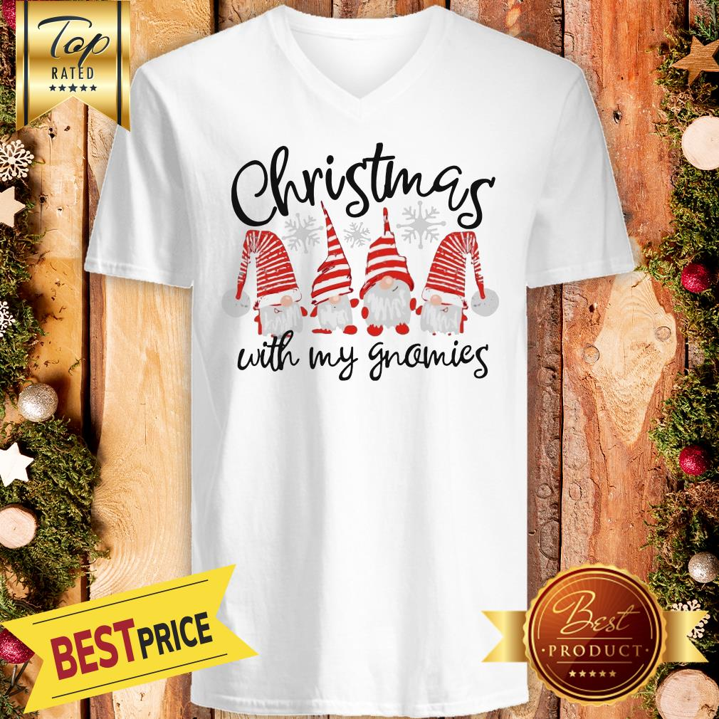 Official Christmas Cuith My Gnomies V-neck