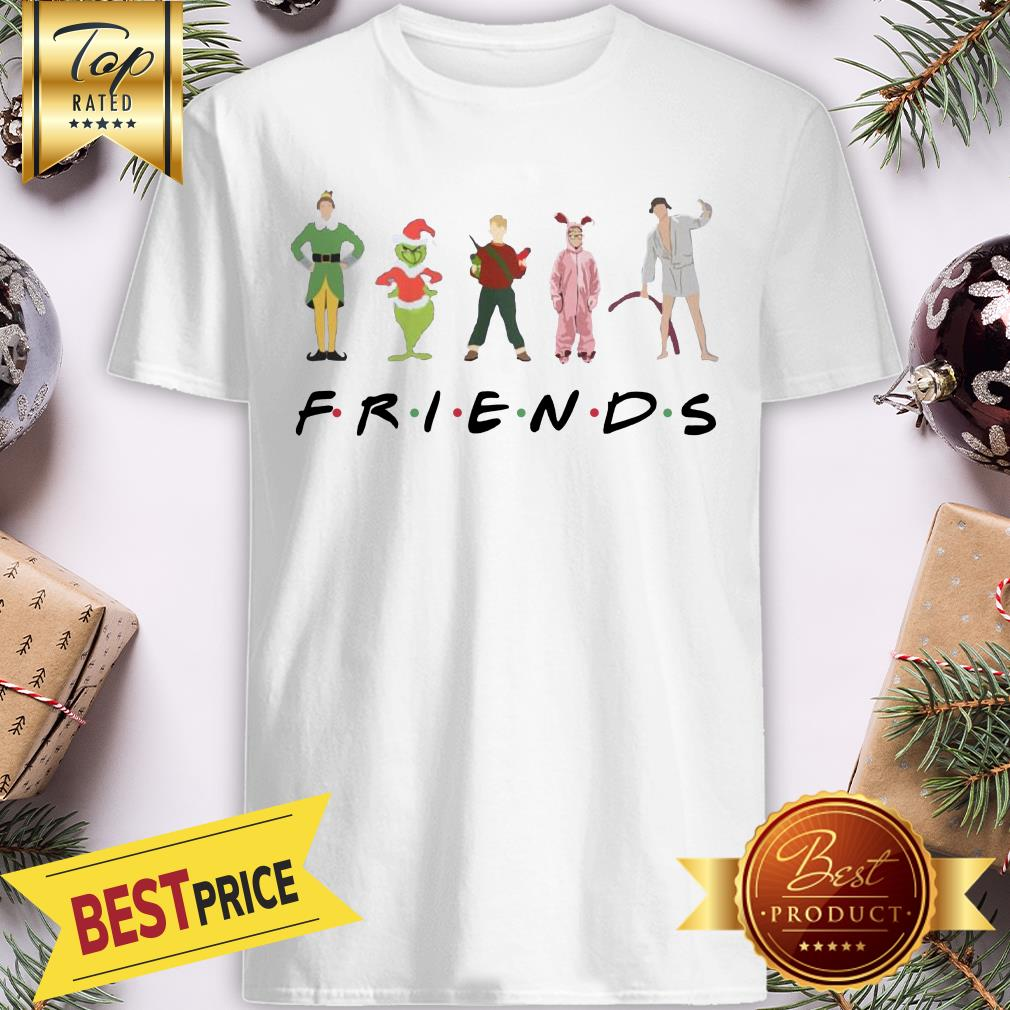 Official Christmas Grinch Kevin Friends Characters Elf Shirt
