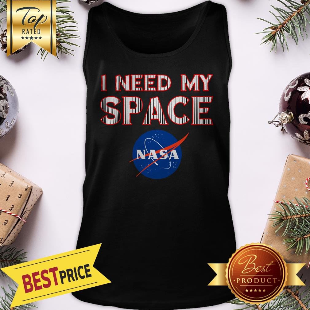 Official I Need My Space Nasa Tank Top