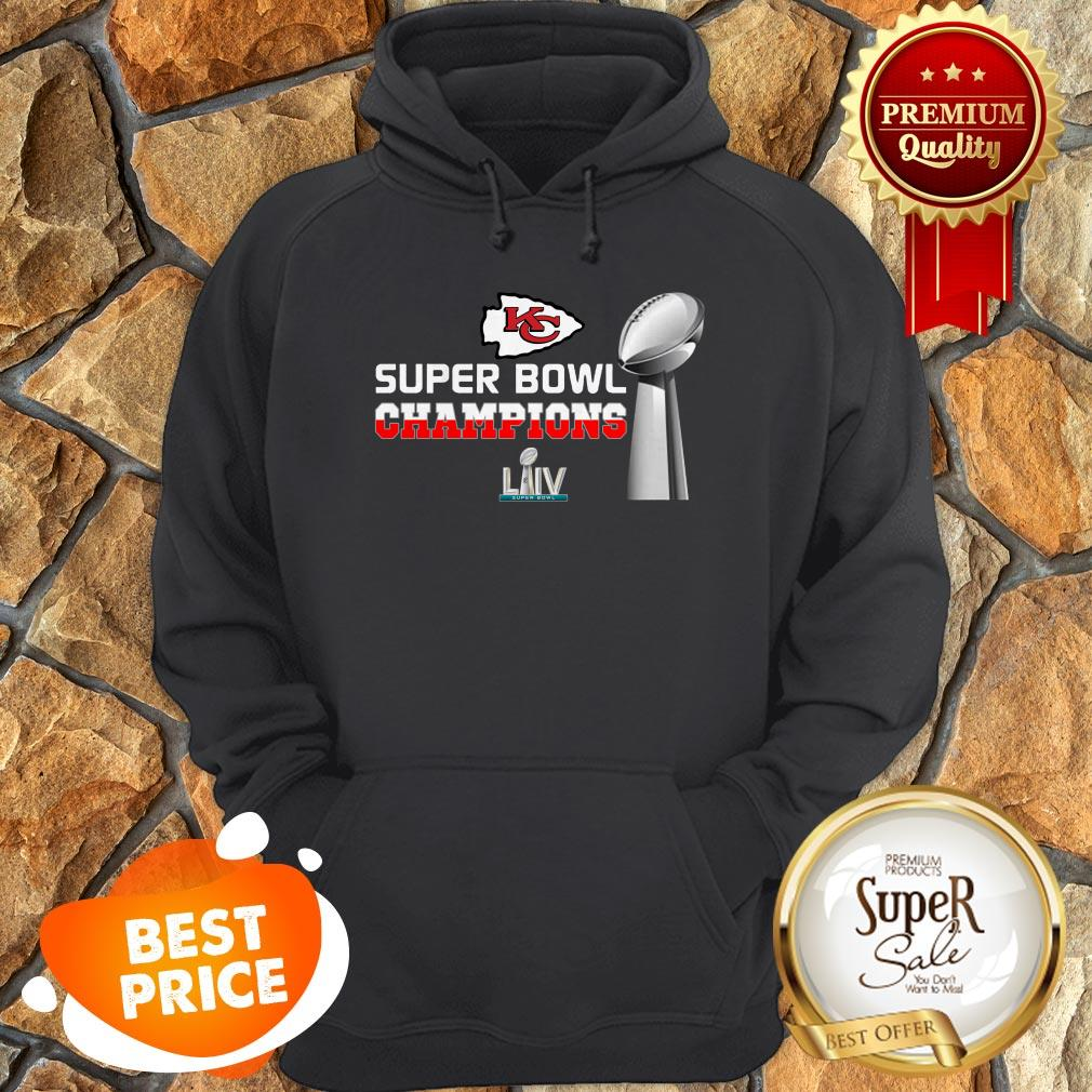 Official Kansas City Chiefs Super Bowl Champions LIV 2020 Hoodie