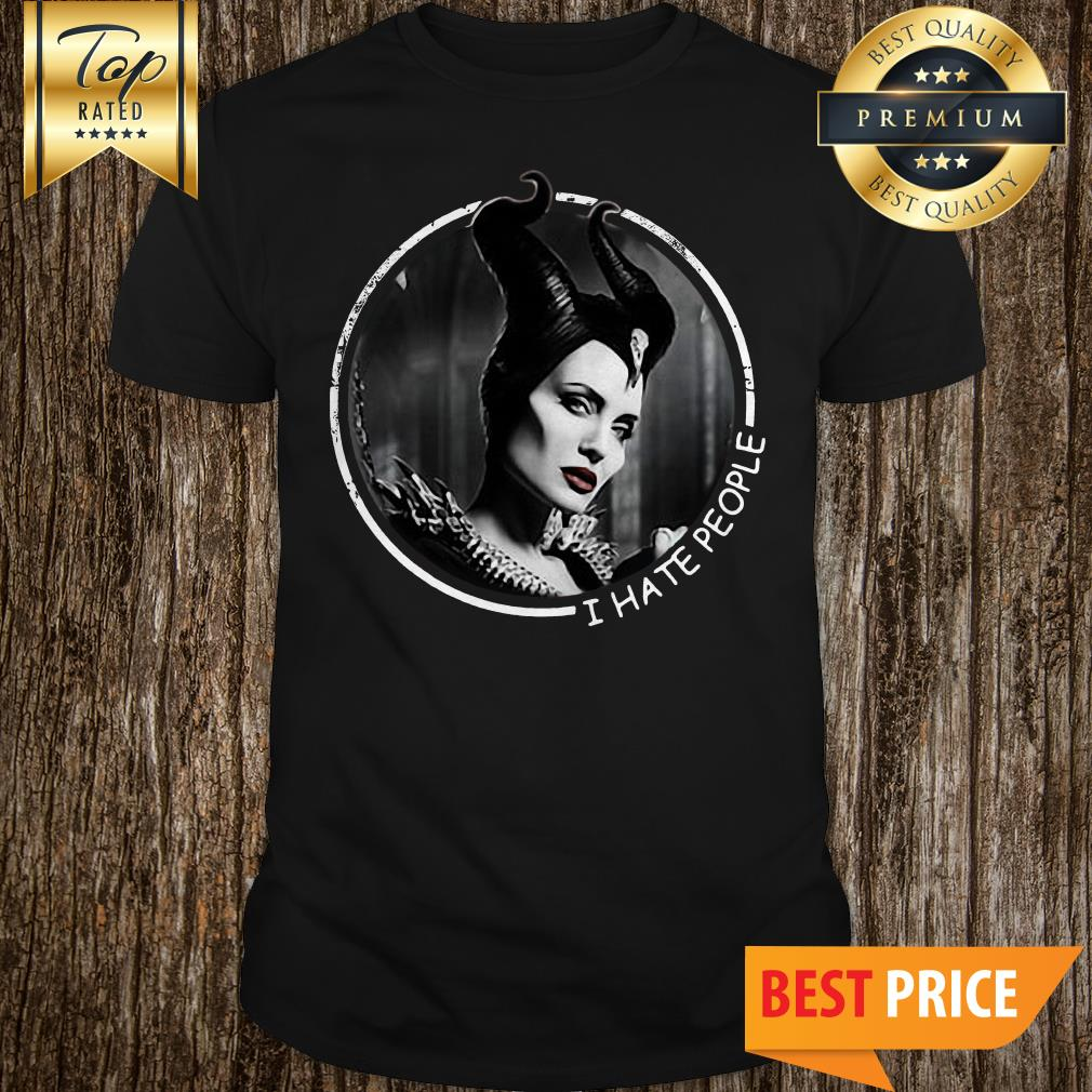 Official Maleficent I Hate People shirt