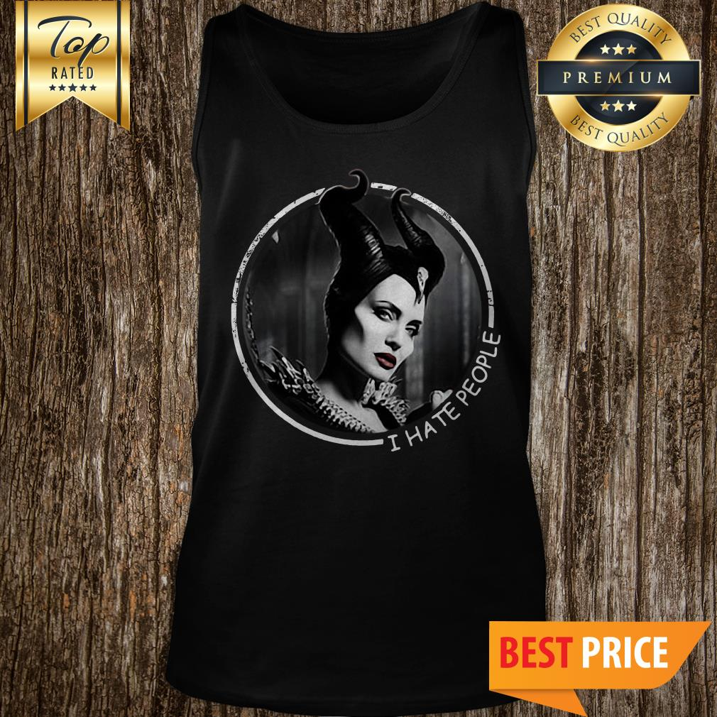 Official Maleficent I Hate People Tank Top
