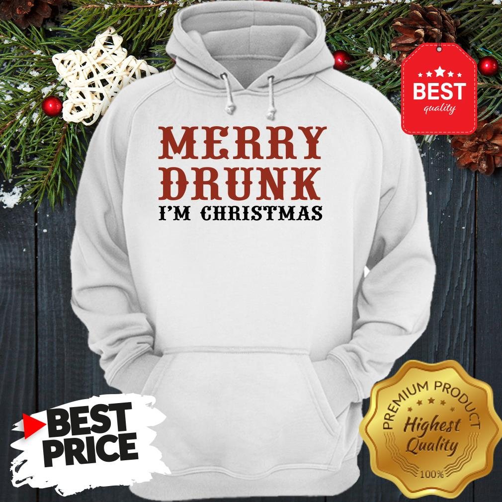 Official Merry Drunk I'm Christmas Hoodie