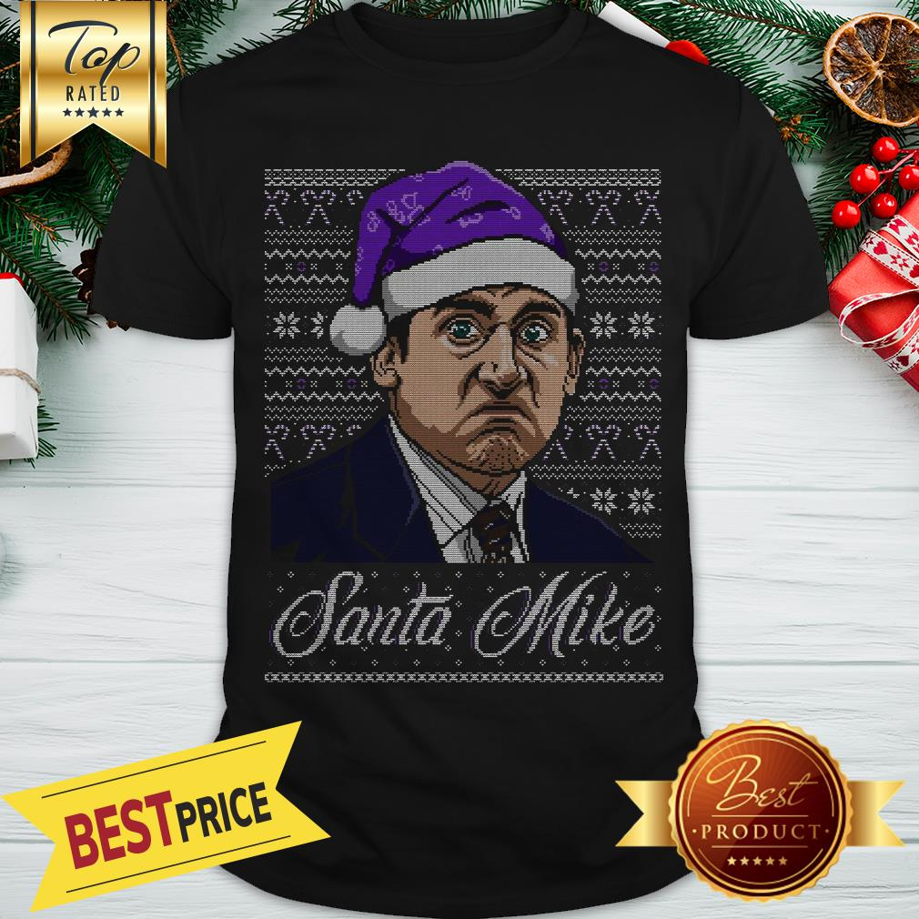 Official Michael Scott Santa Micke Ugly Christmas Shirt