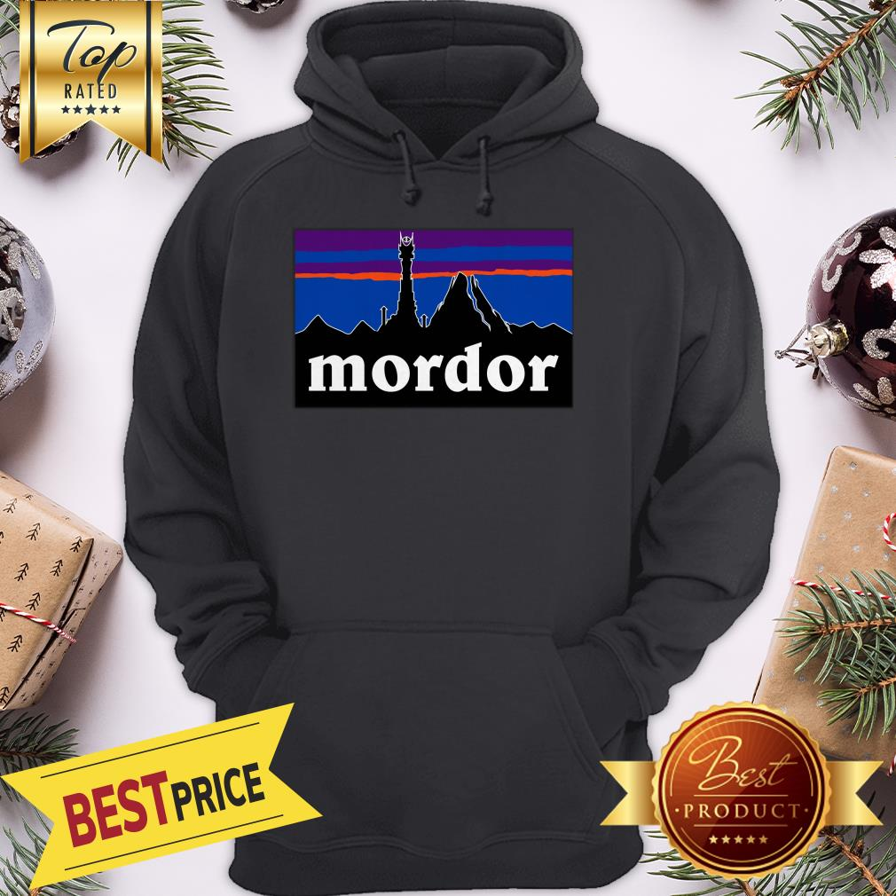 Official Mordor Patagonia The Lord Of The Rings Favorite Hoodie