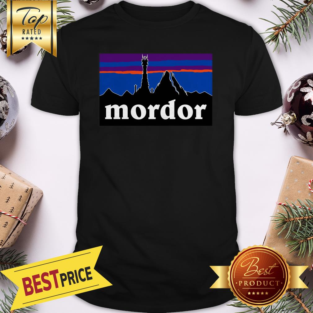 Official Mordor Patagonia The Lord Of The Rings Favorite Shirt