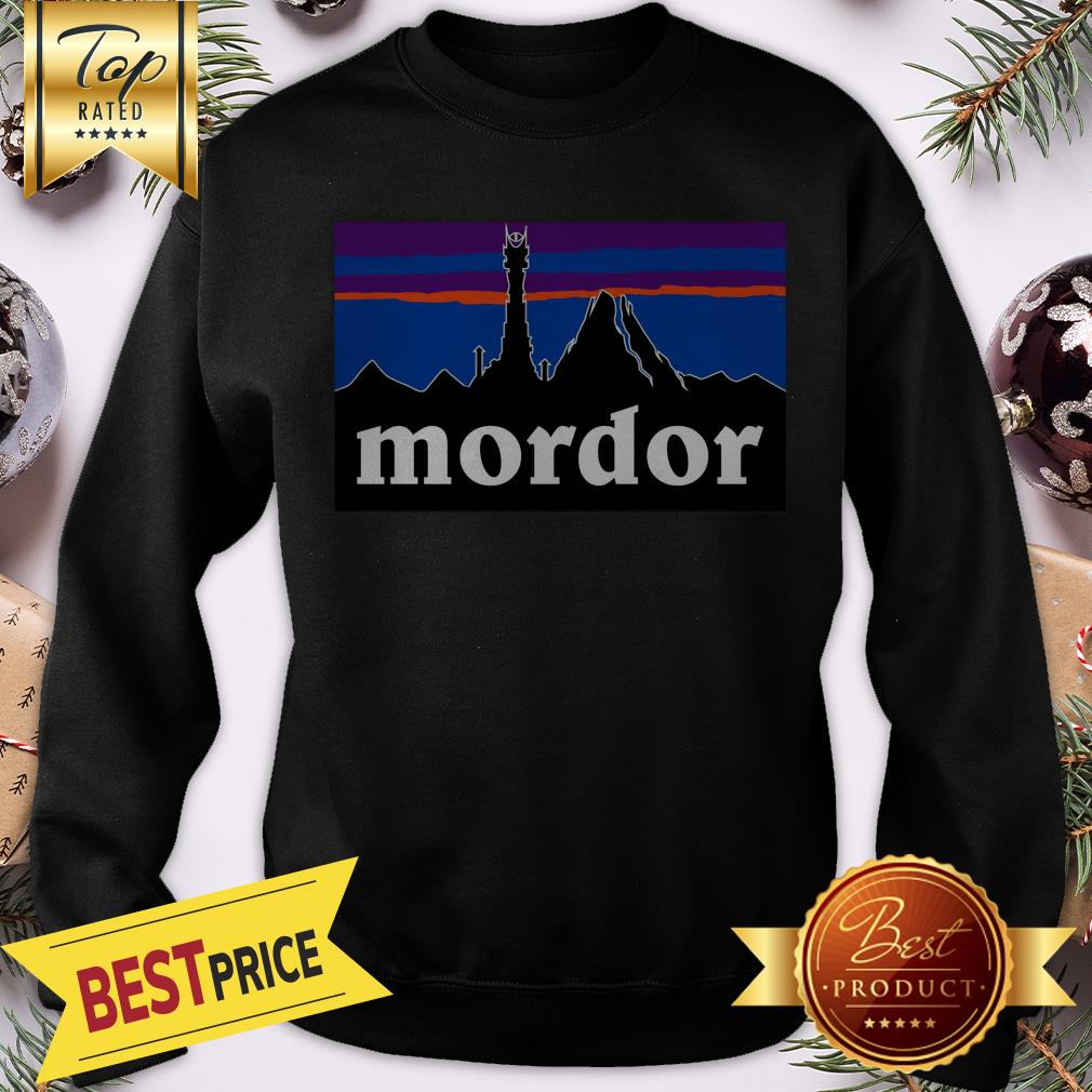 Official Mordor Patagonia The Lord Of The Rings Favorite Sweatshirt