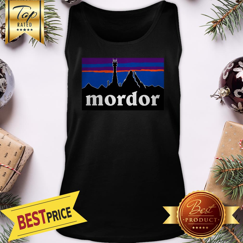 Official Mordor Patagonia The Lord Of The Rings Favorite Tank Top
