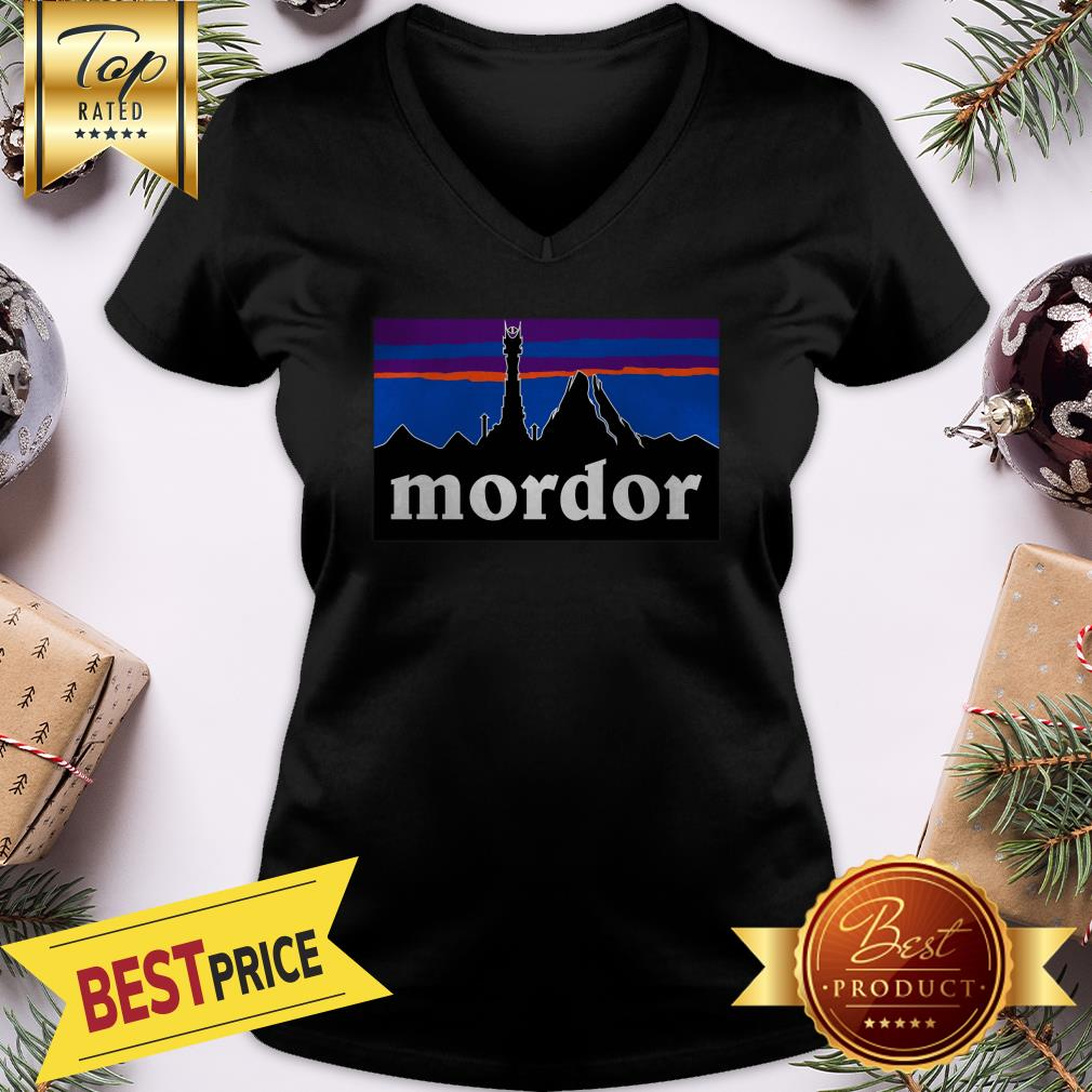 Official Mordor Patagonia The Lord Of The Rings Favorite V-Neck
