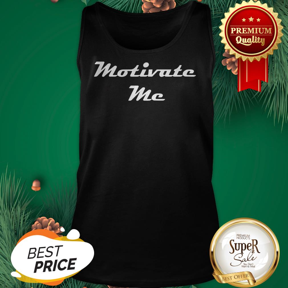 Official Motivate Me Tank Top