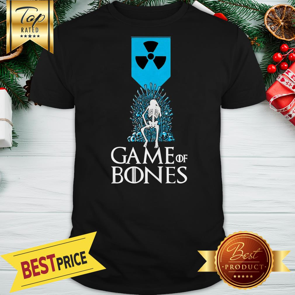 Official Nuclear Weapon Game Of Bones Shirt