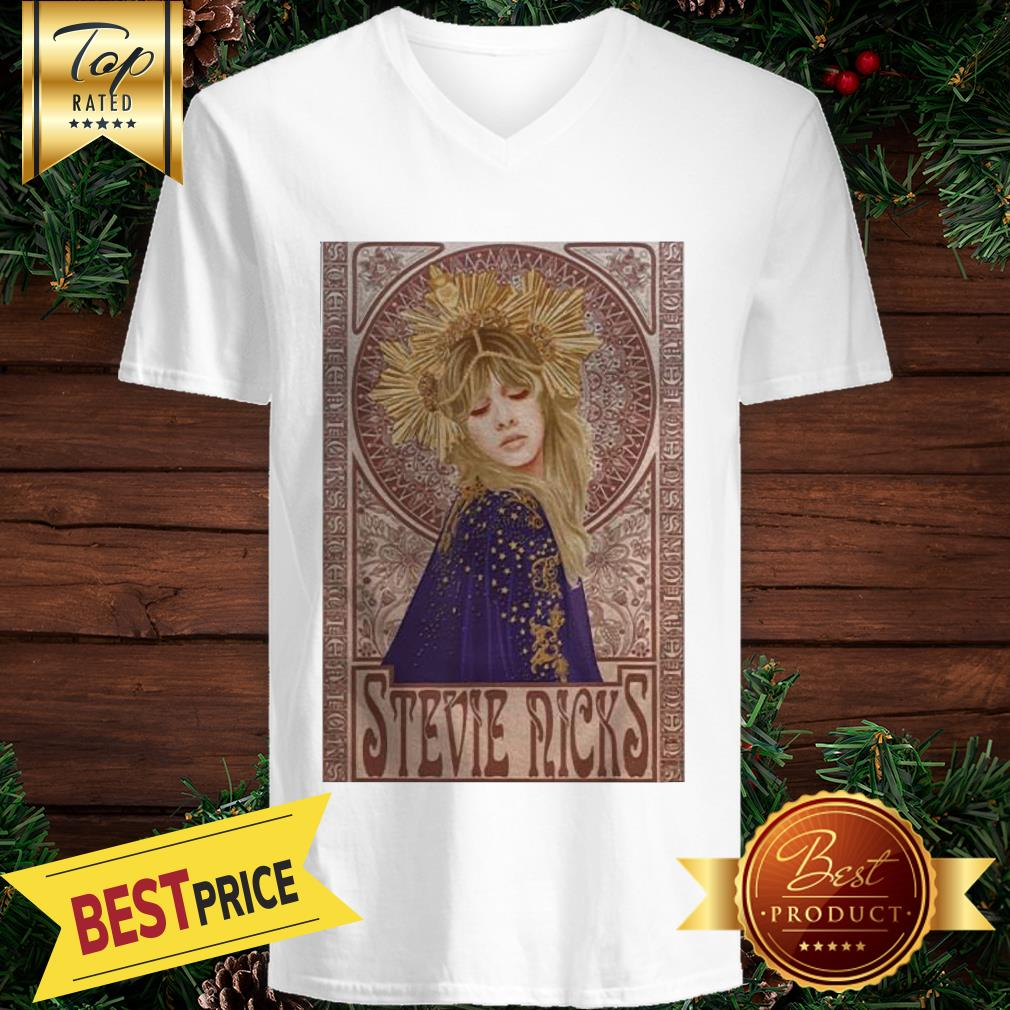 Official Retro Stevie Nicks Love V-neck
