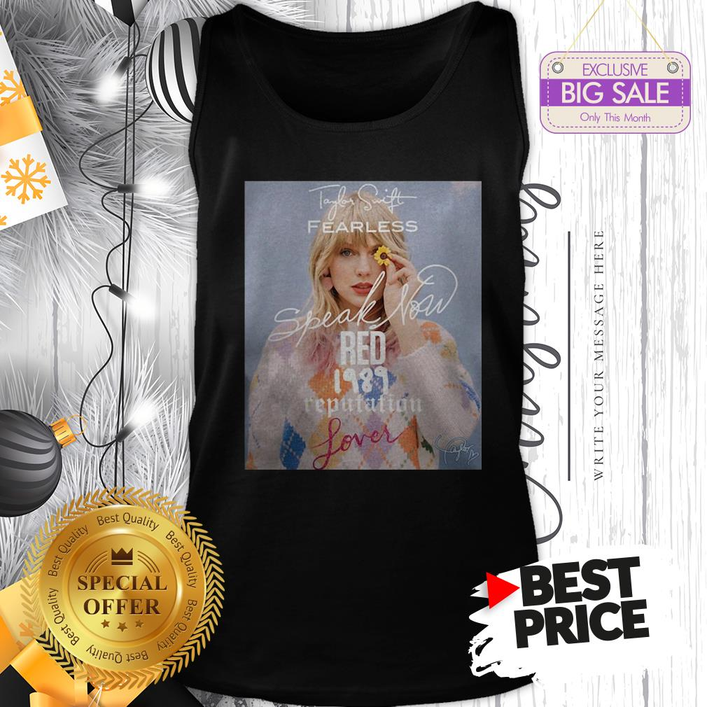 Official Wonderful Taylor Swift Fearless Speak Now Red 1989 Reputation Lover Tank Top