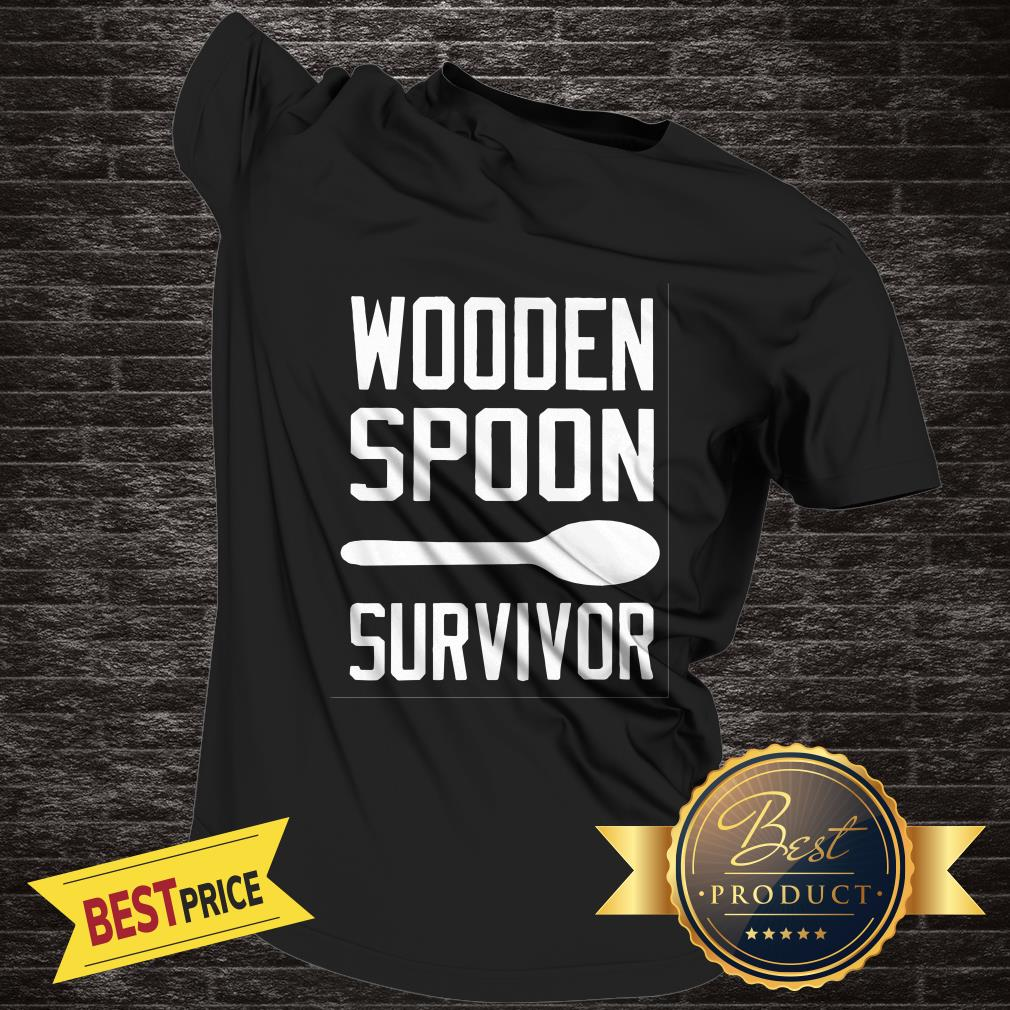 Official Wooden Spoon Survivor Shirt