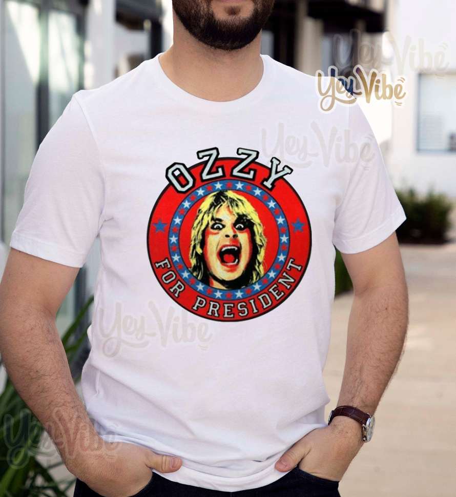 Ozzy for President t-shirts