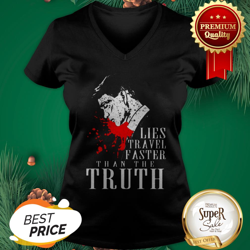 Peaky Blinders Lies Travel Faster Than The Truth V-neck