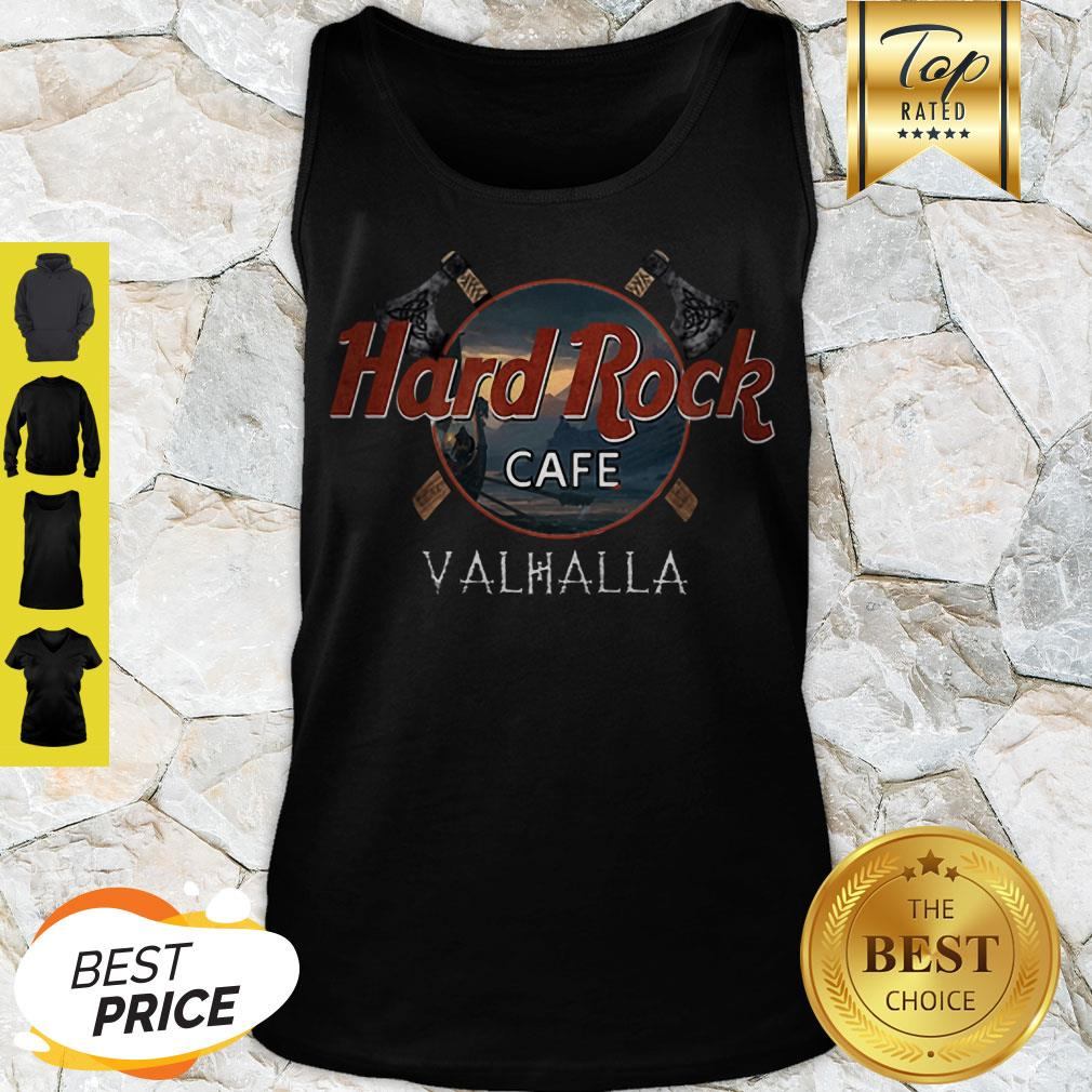Perfect Hard Rock Cafe Valhalla Viking Tank Top