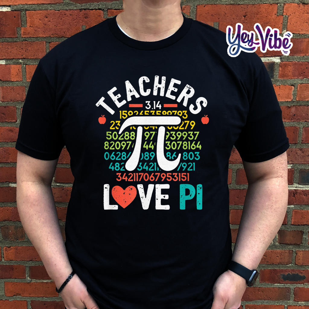 Pi Day Shirt Mathematics Teacher Nerd Geek Geometry Algebra Shirts