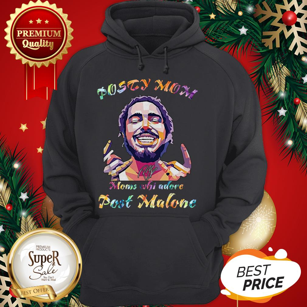 Posty Mom Moms Who Adore Post Malone LGBT Hoodie
