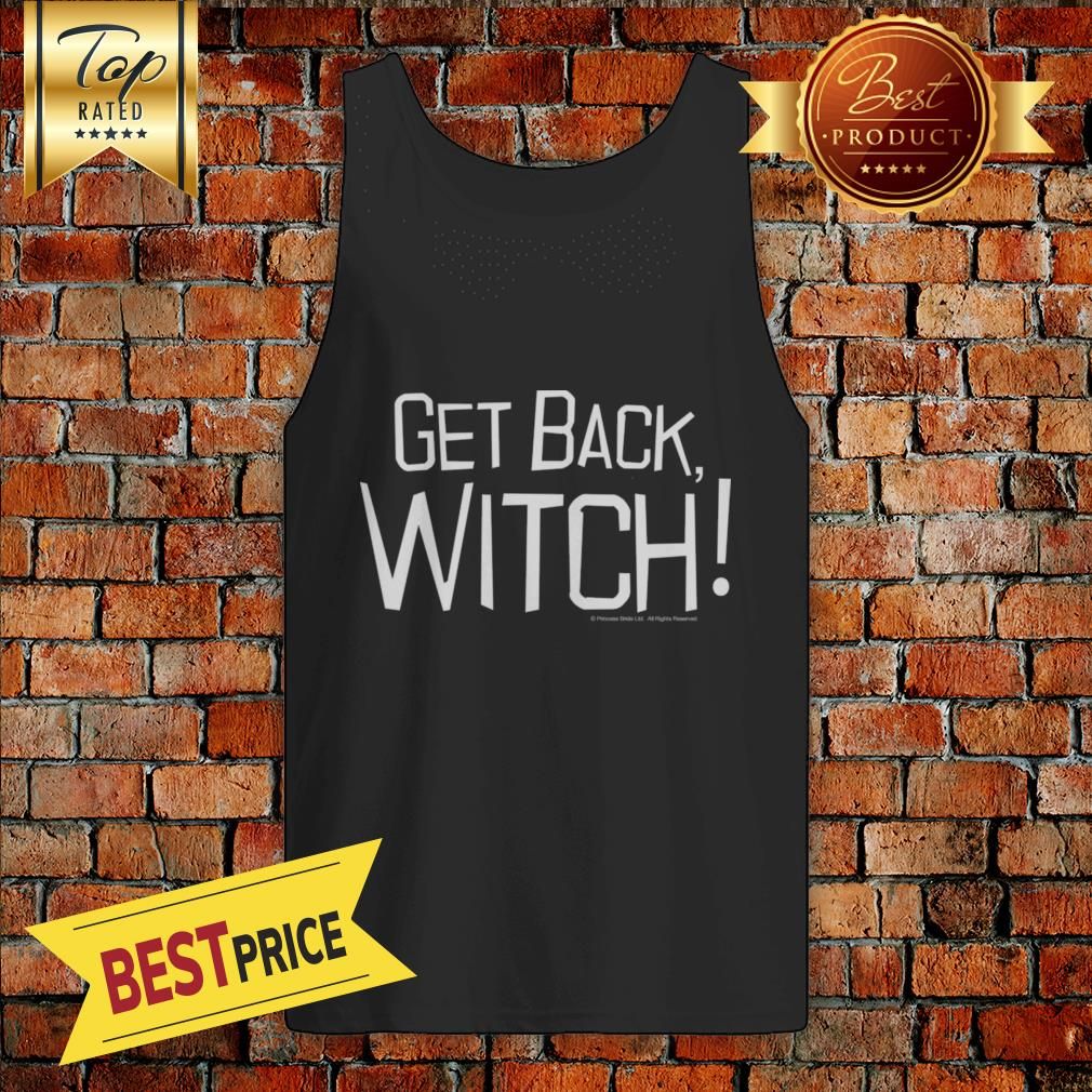 Pretty Get Back Witch Halloween Tank Top