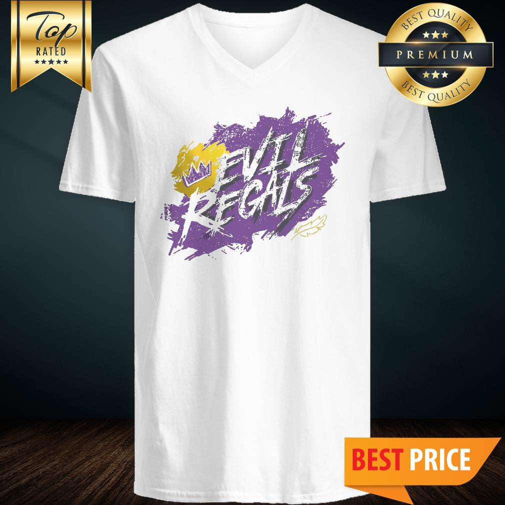 Pretty Lana Parrilla Evil Regal Crown V-Neck