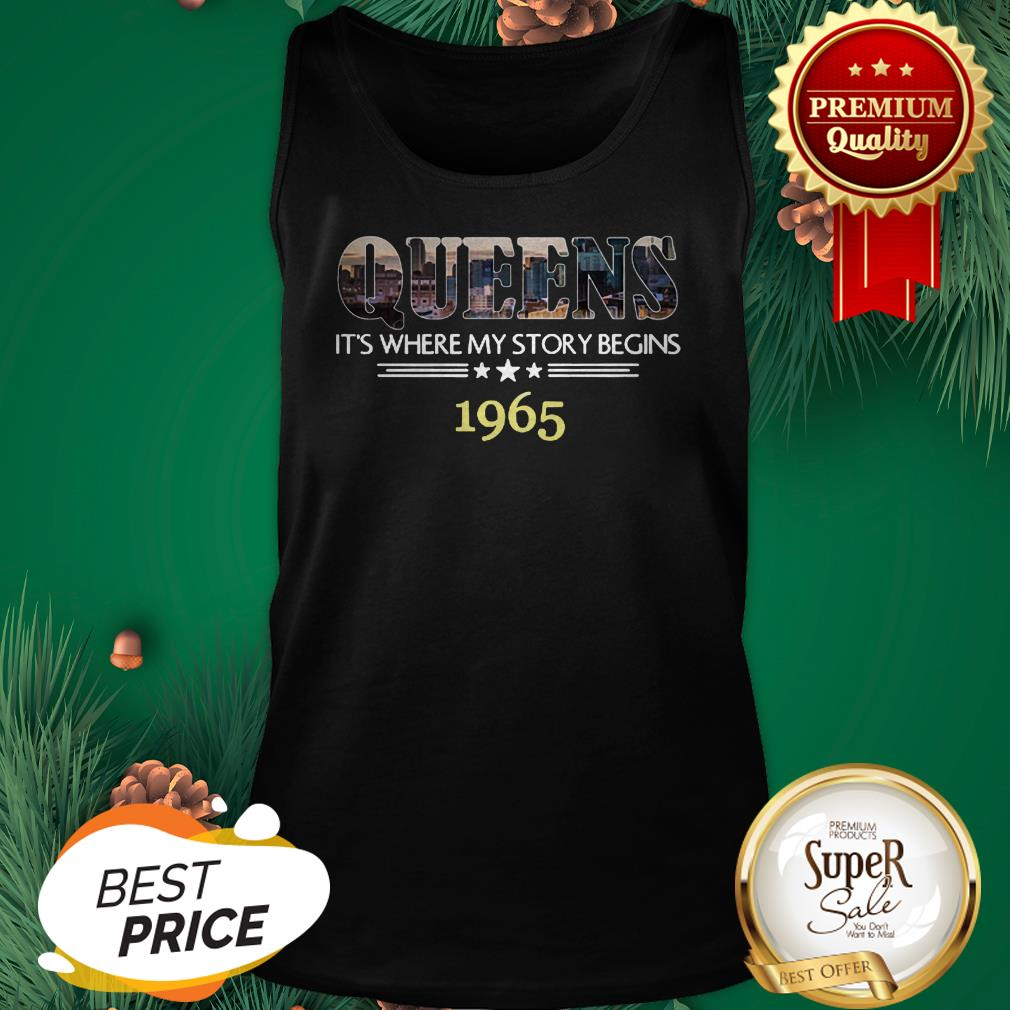 Queens It's Where My Story Begins 1965 Tank Top