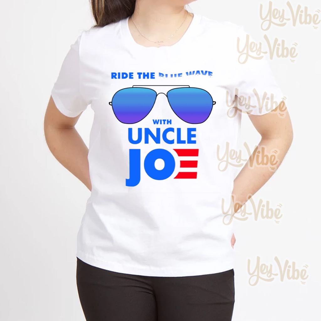 Ride the Blue Wave with Uncle Joe Biden T-Shirts