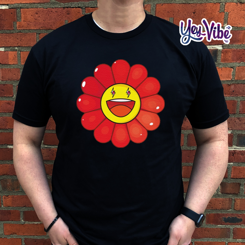 Rojo Large Flower t shirt
