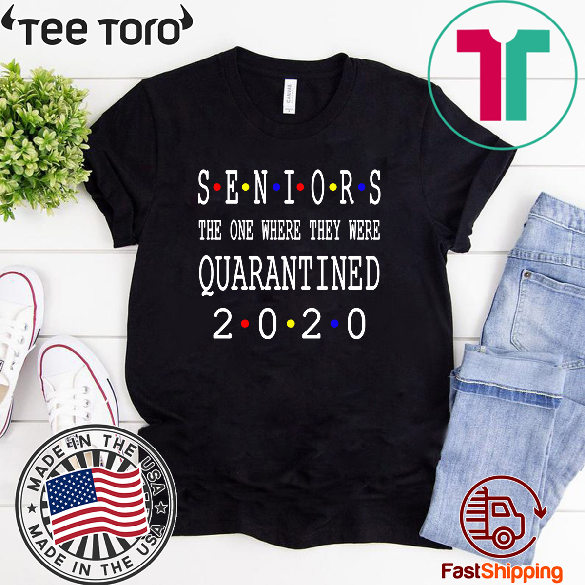 Class Of 2020 Graduation Senior Funny Quarantine Limited Edition T-Shirt - Senior 2020 Shit Getting Real Shirt