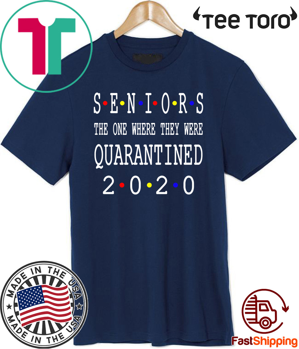 Mens Womens Senior 2020 Shit Getting Real Shirt - Class Of 2020 Graduation Senior Funny Quarantine