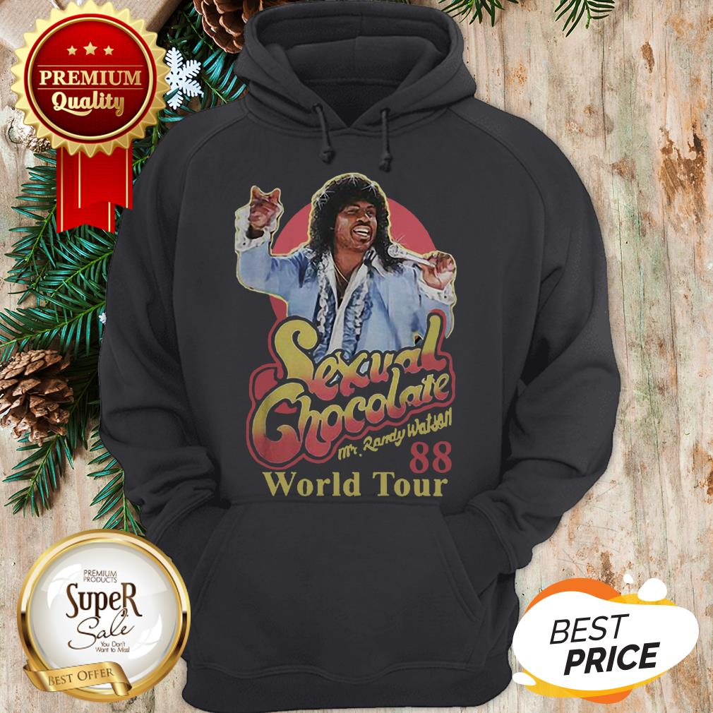 Sexual Chocolate 88 World Tour Mr Randy Eddie Murphy Movie Hoodie