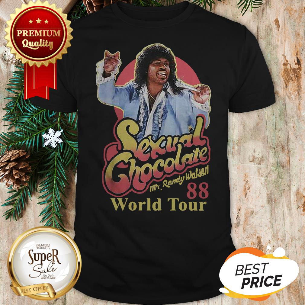 Sexual Chocolate 88 World Tour Mr Randy Eddie Murphy Movie Shirt