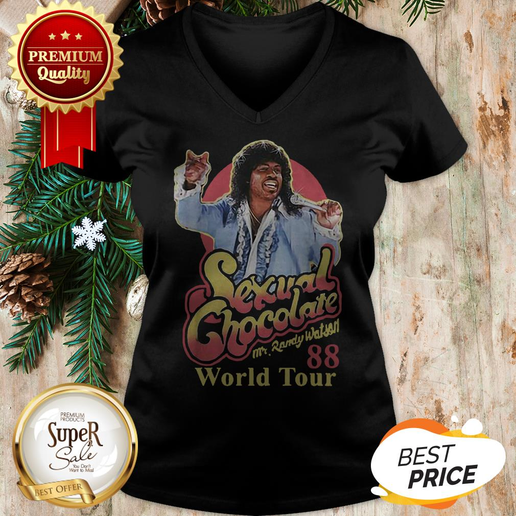 Sexual Chocolate 88 World Tour Mr Randy Eddie Murphy Movie V-neck
