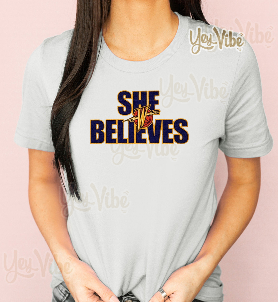 She Believes T-Shirt Golden State Warriors
