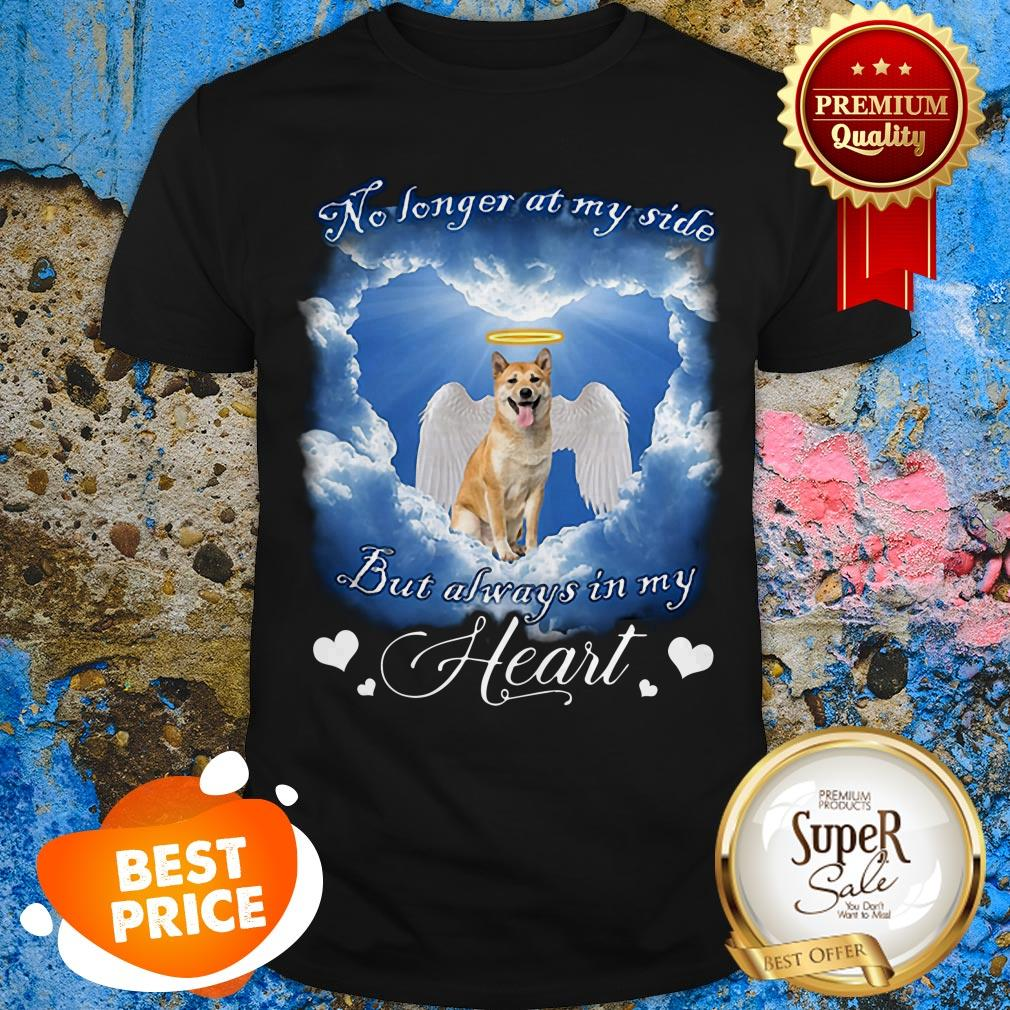 Shiba Inu Angel No Longer At My Side But Always In My Heart Shirt