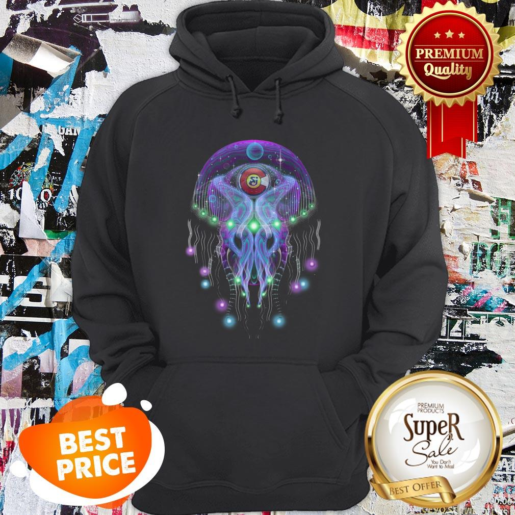 String Cheese Incident CO Love Psychedelic Jellyfish Hoodie