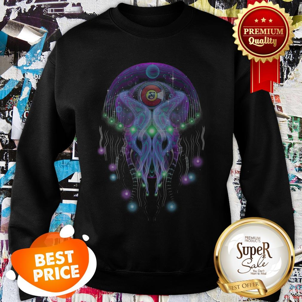 String Cheese Incident CO Love Psychedelic Jellyfish Sweatshirt