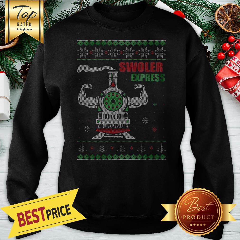 Swoler Express Ugly Christmas Sweatshirt