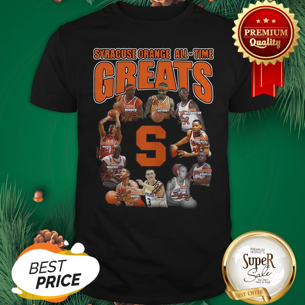 Syracuse Orange All Time Greats All Signature Shirt