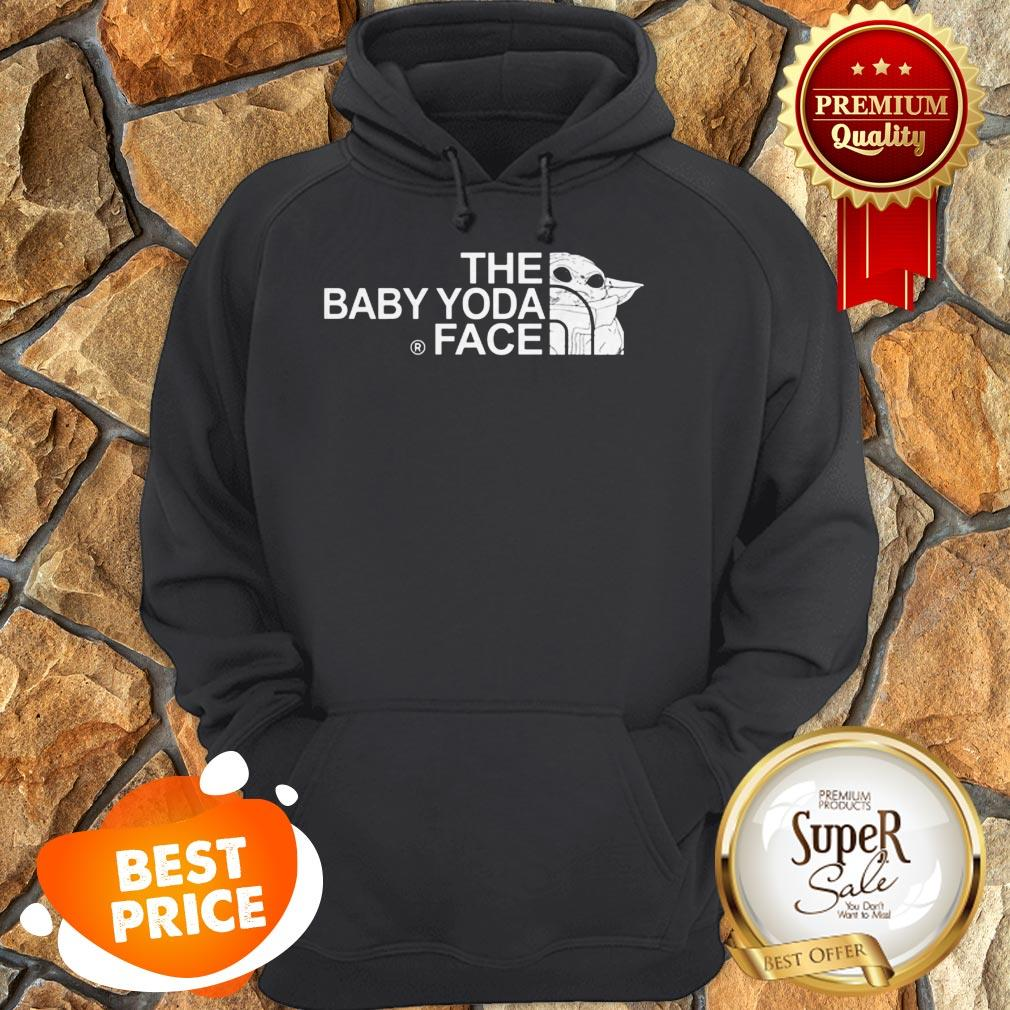 The Baby Yoda Face Mashup The North Face Hoodie