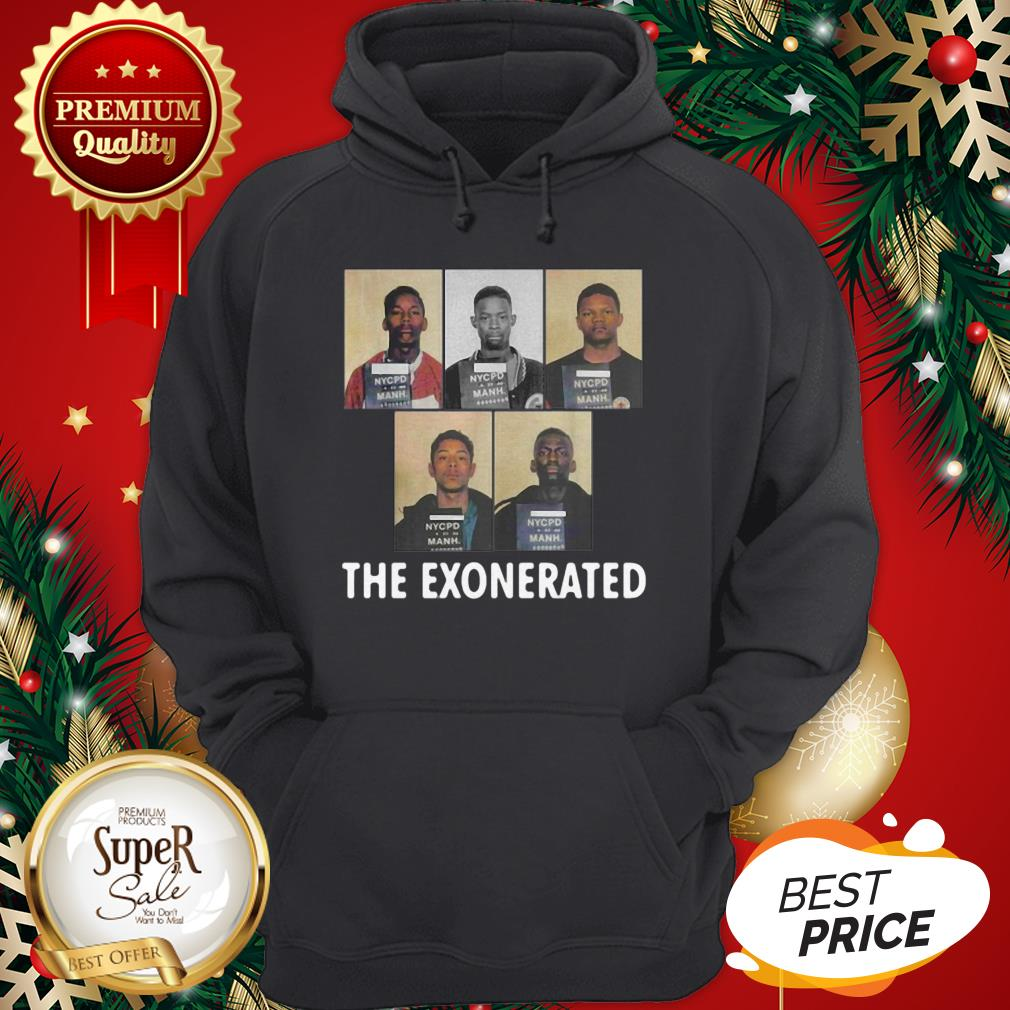 The Central Park 5 Park Jogger The Exonerated Hoodie