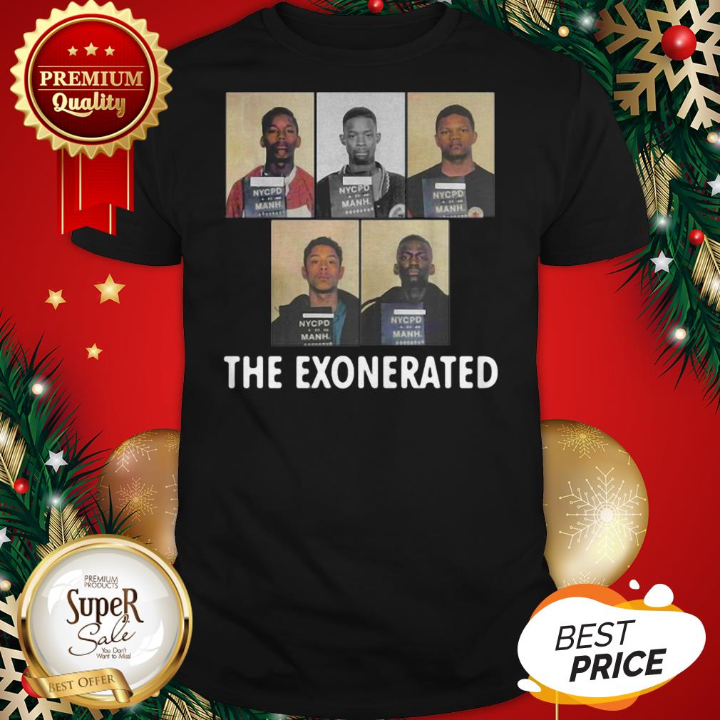 The Central Park 5 Park Jogger The Exonerated Shirt