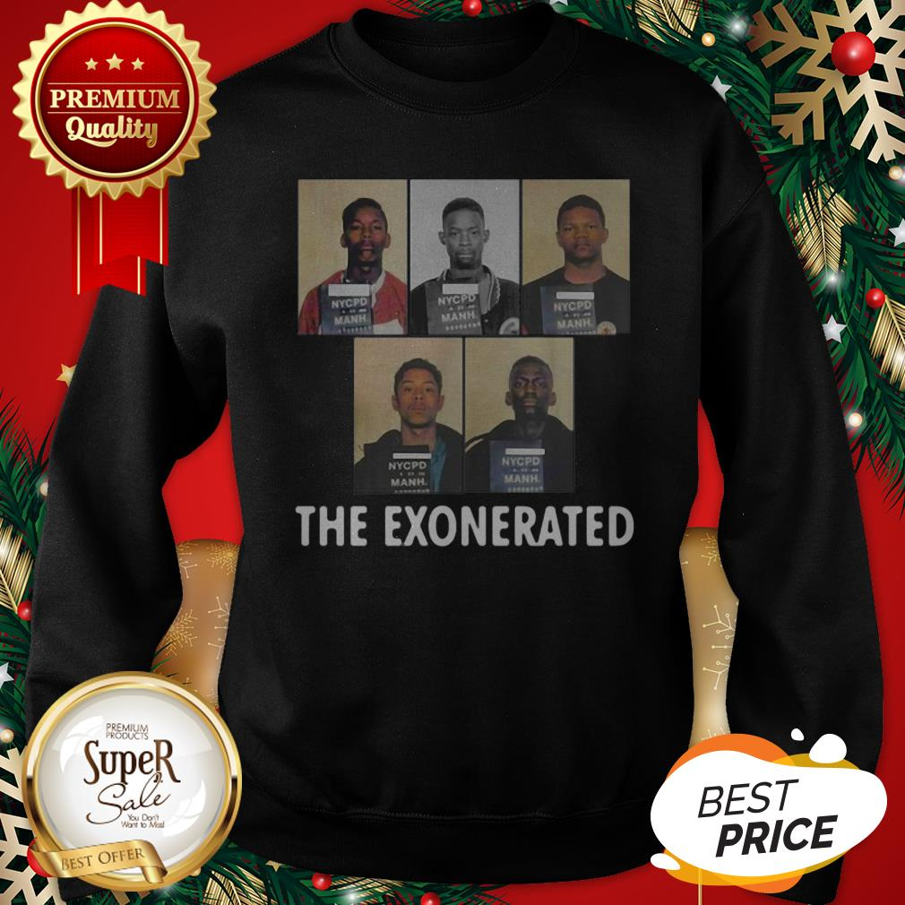 The Central Park 5 Park Jogger The Exonerated Sweatshirt