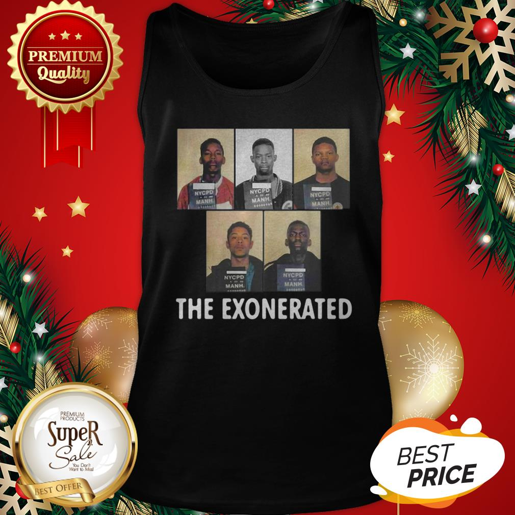 The Central Park 5 Park Jogger The Exonerated Tank Top