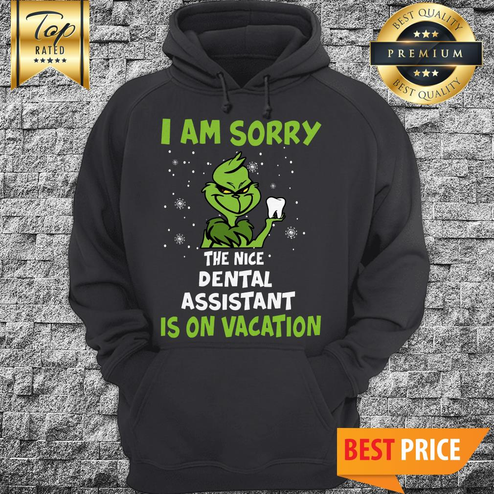 The Grinch I Am Sorry The Nice Dental Assistant Is On Vacation Hoodie