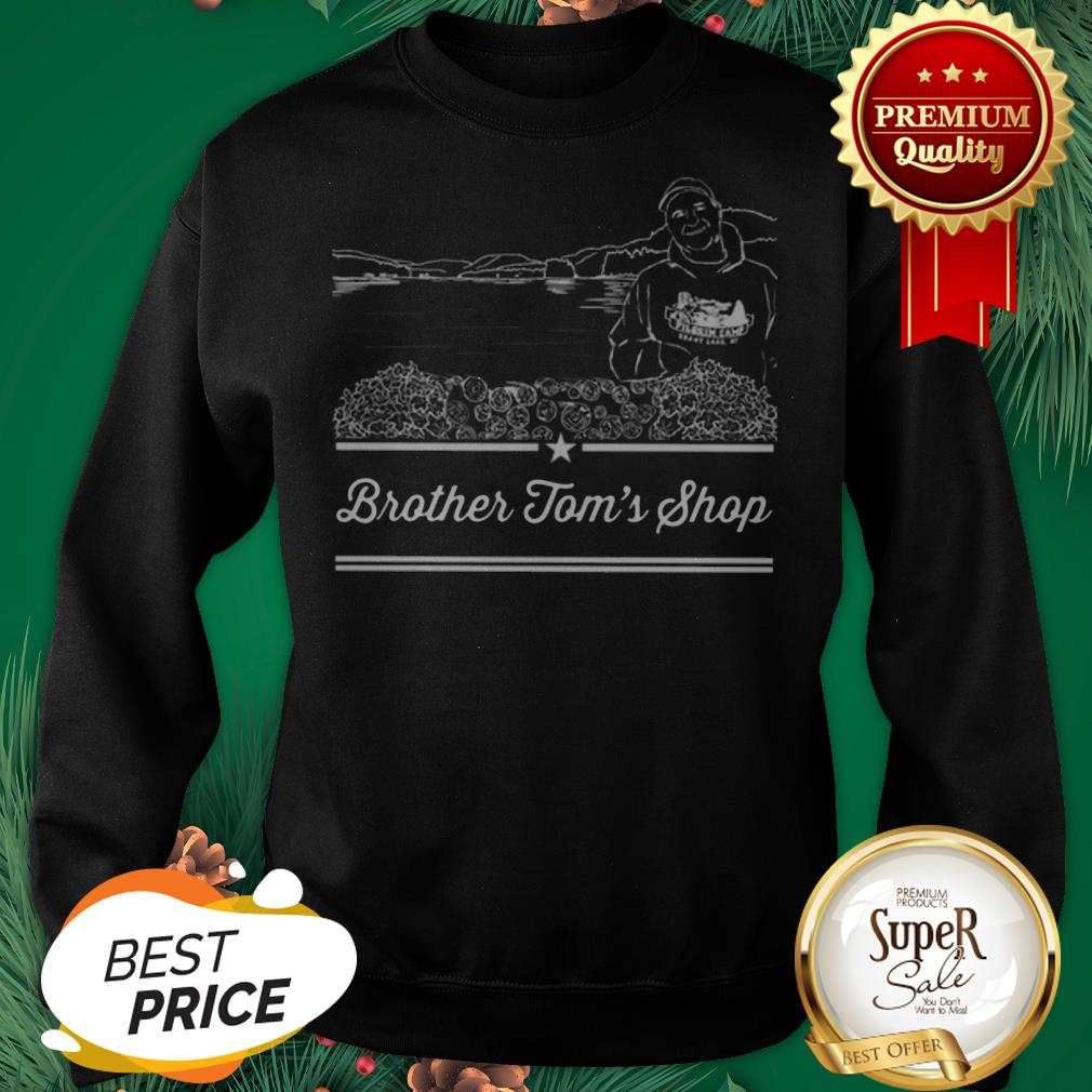 The Ultimate Groundsmen – Brother Tom's Shop Sweatshirt