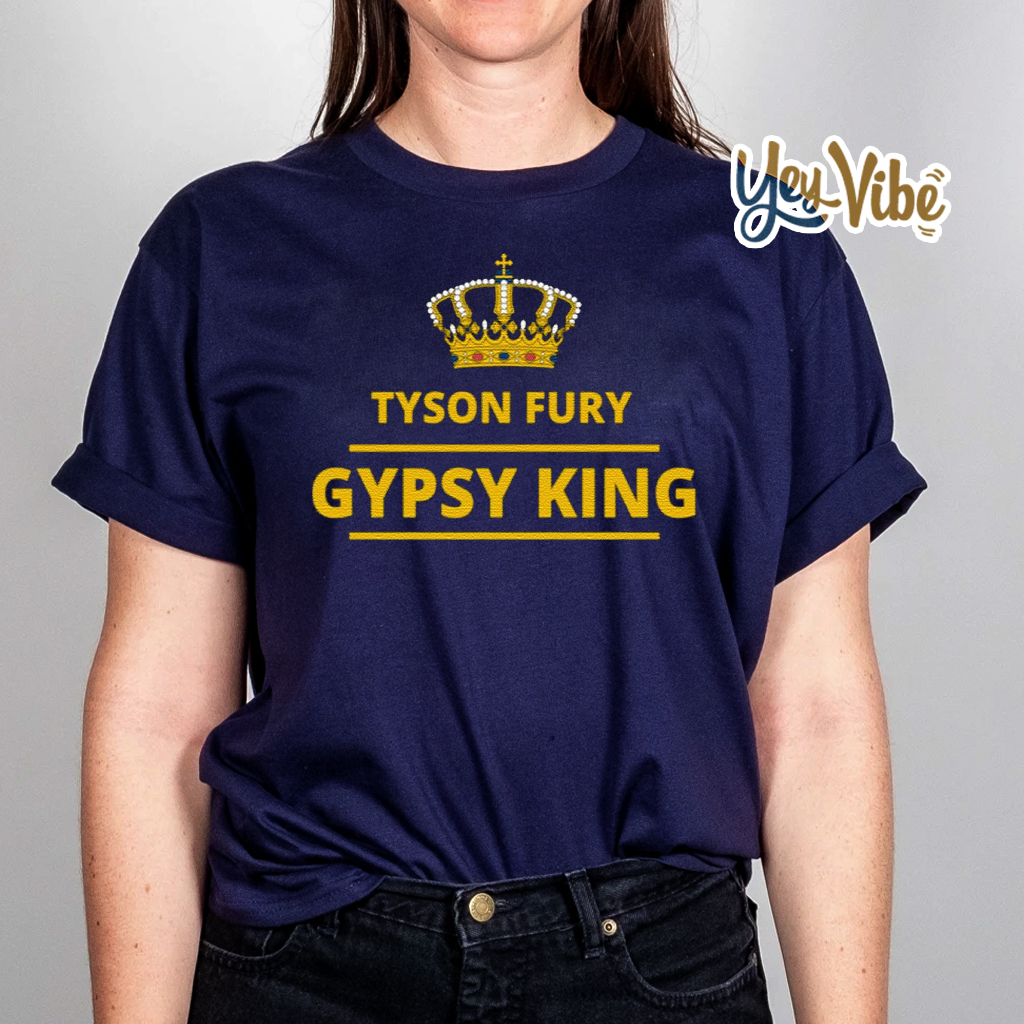 Tyson Fury Gypsy King T Shirt